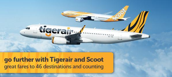 Beli Tiket Pesawat Promo Tiger Air Tiketinternasionalmurah
